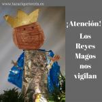 chantaje para niños. Los Reyes Magos