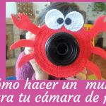 tutorial crochet. Máscara para la cámara de fotos