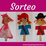 Sorteo de marionetas ¡participa!